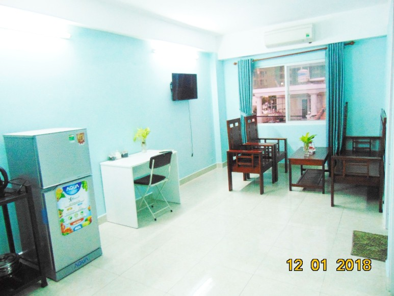 YT-2BR2-Fully furnished Studio Apartment, 2 bedrooms, Cozy Space, Window View