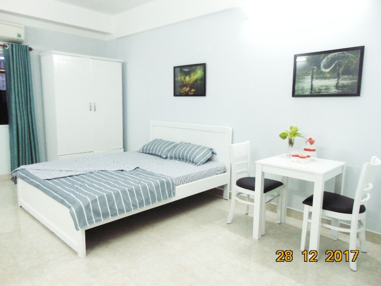 YT-STUDIO2-Fully furnished Studio Apartment, Cool Space, Window View
