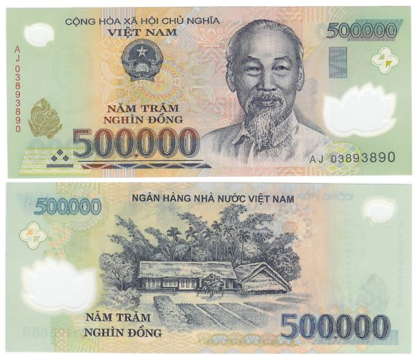 500,000vnd equivalent to 22 USD